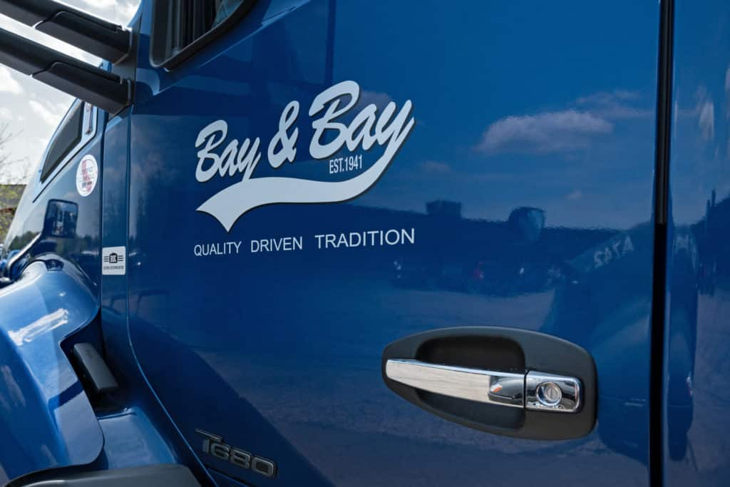 bay and bay truck side